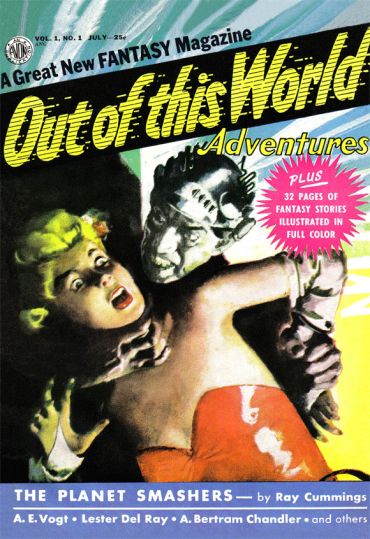 Out of this World Adventures #1 (July 1950)