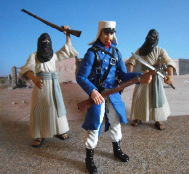 Thibaut Corday of the French Foreign Legion... Now as an Action Figure