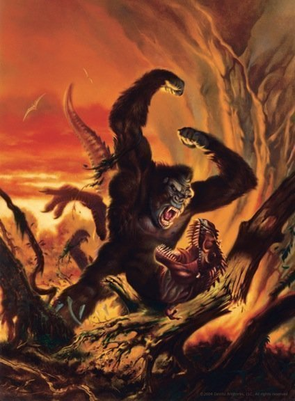 Kong vs. Carnosaur