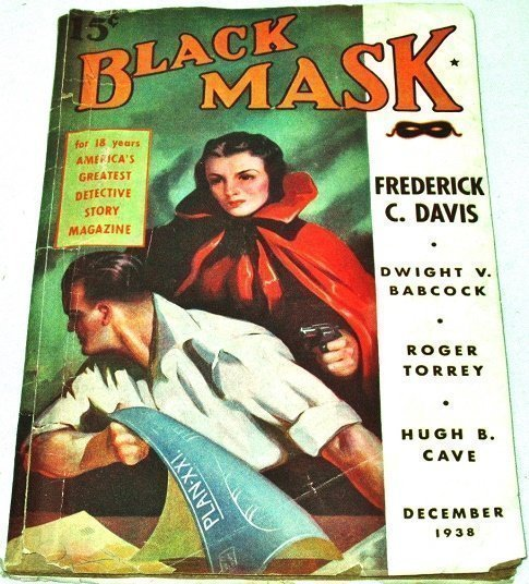 BLACK MASK - Dec. 1938