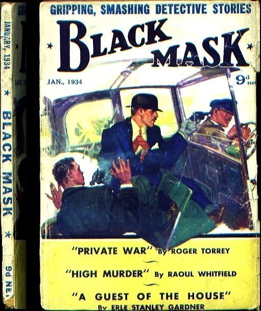 BLACK MASK - Jan. 1934 (British edition)