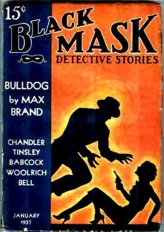 BLACK MASK - Jan. 1937