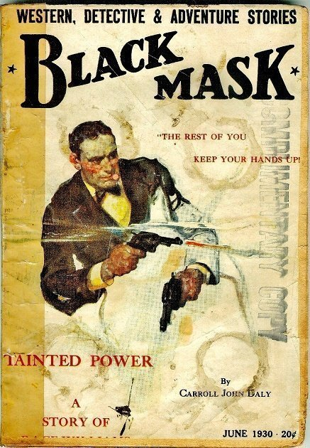 BLACK MASK - June 1930