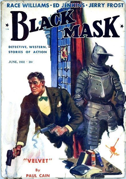 BLACK MASK - June 1932