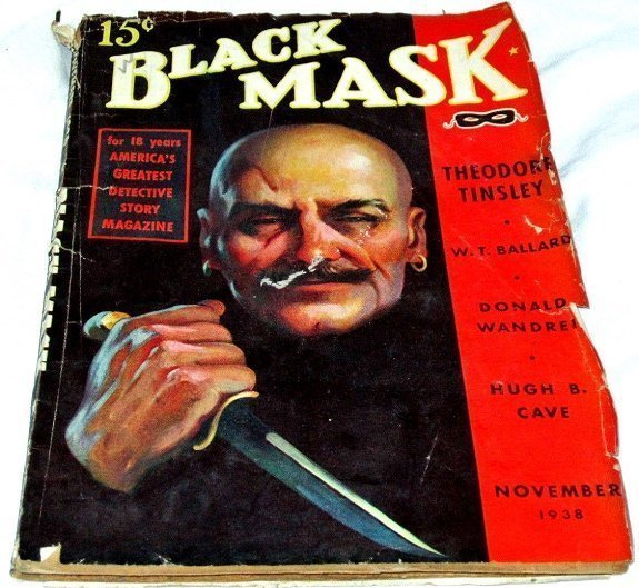 BLACK MASK - Nov. 1938