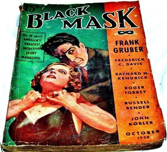 BLACK MASK - Oct. 1938