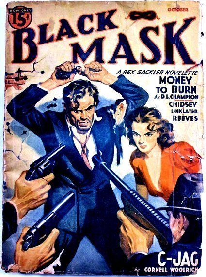 BLACK MASK - Oct. 1940