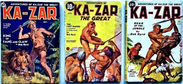 KA-ZAR - Complete Original Set