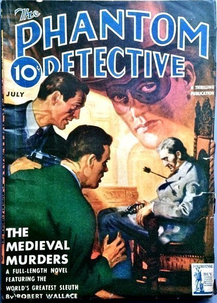 PHANTOM DETECTIVE - July 1942
