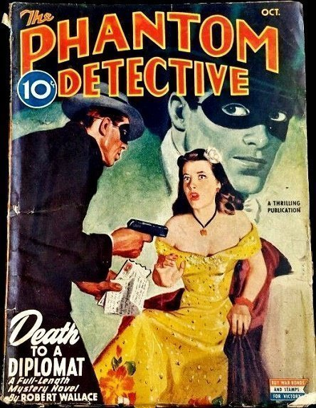 PHANTOM DETECTIVE - Oct. 1945