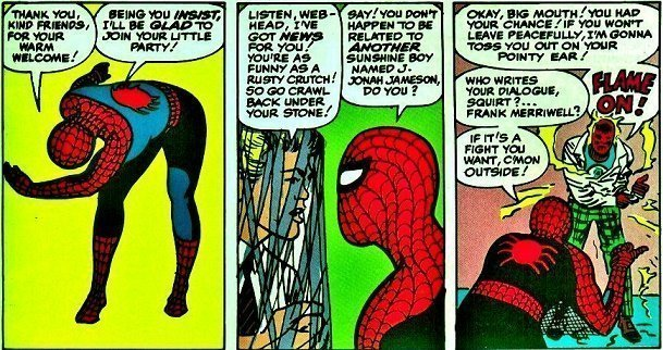 AMAZING SPIDERMAN #8 Jan. 1964 by Jack Kirby(inks by Steve Ditko)