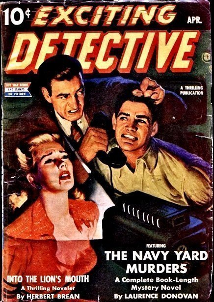 EXCITING DETECTIVE - April 1943