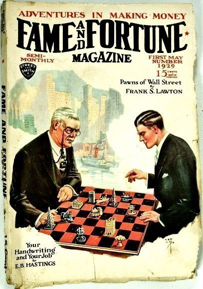 FAME AND FORTUNE MAGAZINE - First May 1929