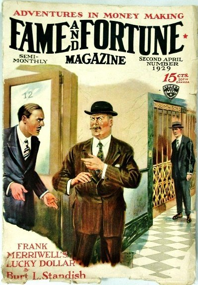 FAME AND FORTUNE MAGAZINE - Second April 1929 (another copy)