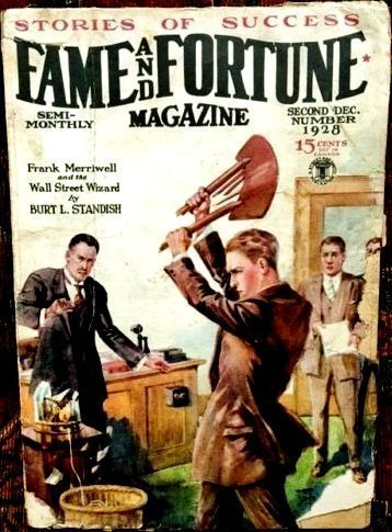 FAME AND FORTUNE MAGAZINE - Second Dec. 1928