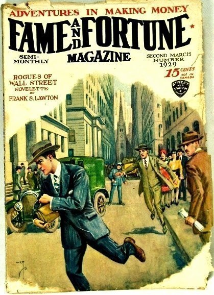 FAME AND FORTUNE MAGAZINE - Second March 1929