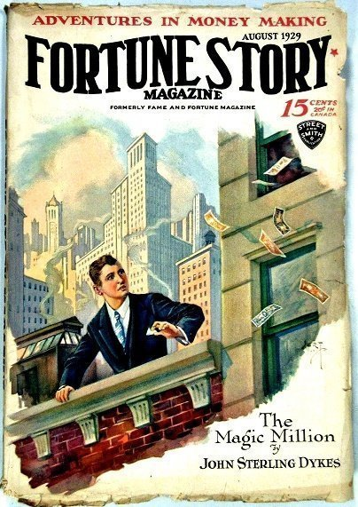 FORTUNE STORIES - Aug. 1929