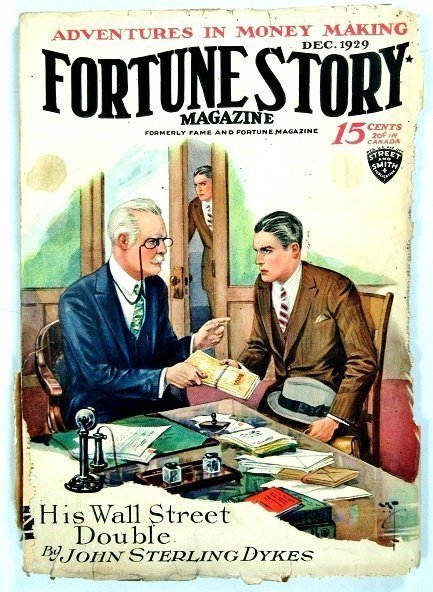 FORTUNE STORIES - Dec. 1929