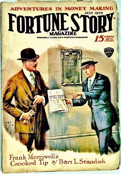 FORTUNE STORIES - July 1929