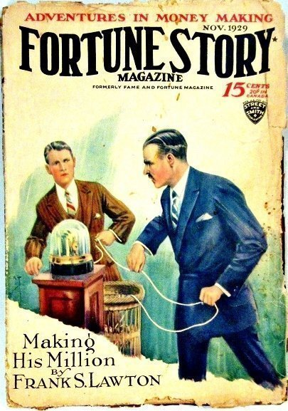 FORTUNE STORIES - Nov. 1929