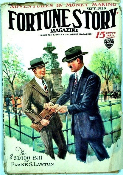 FORTUNE STORIES - Sept. 1929