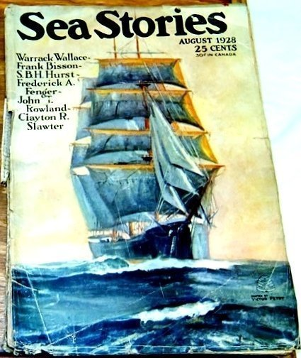 SEA STORIES MAGAZINE - Aug. 1928