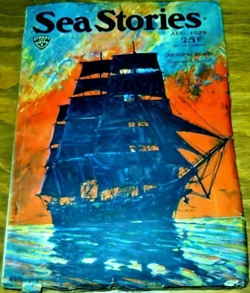 SEA STORIES MAGAZINE - Aug. 1929