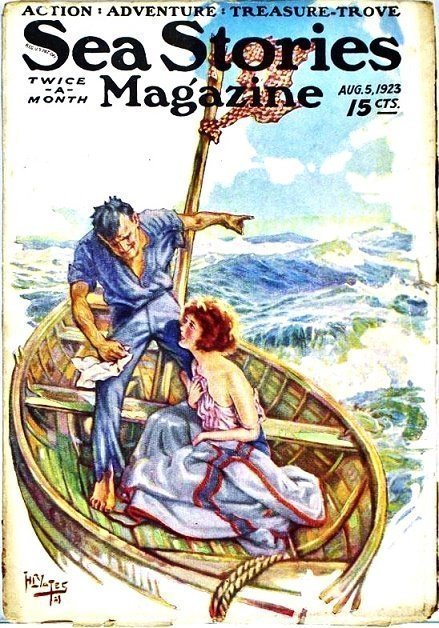 SEA STORIES MAGAZINE - Aug. 5. 1923