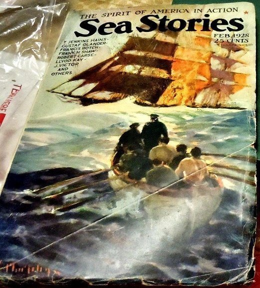 SEA STORIES MAGAZINE - Feb. 1928
