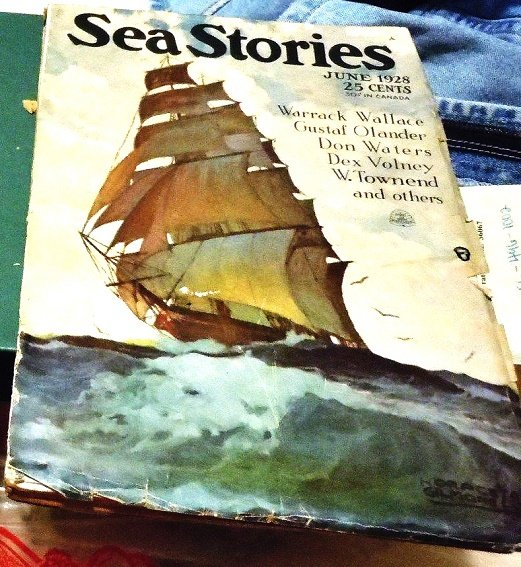 SEA STORIES MAGAZINE - June 1928