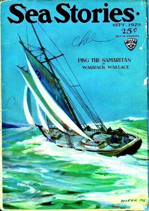 SEA STORIES MAGAZINE - Sept. 1929