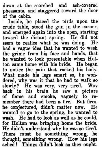 ''THE ROTTING LOG'' by Johnston McCulley (The PACIFIC MONTHLY - May 1906) pg. 4B