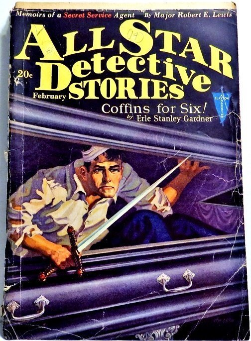 ALL STAR DETECTIVE - Feb. 1931