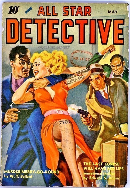 ALL STAR DETECTIVE - May 1942