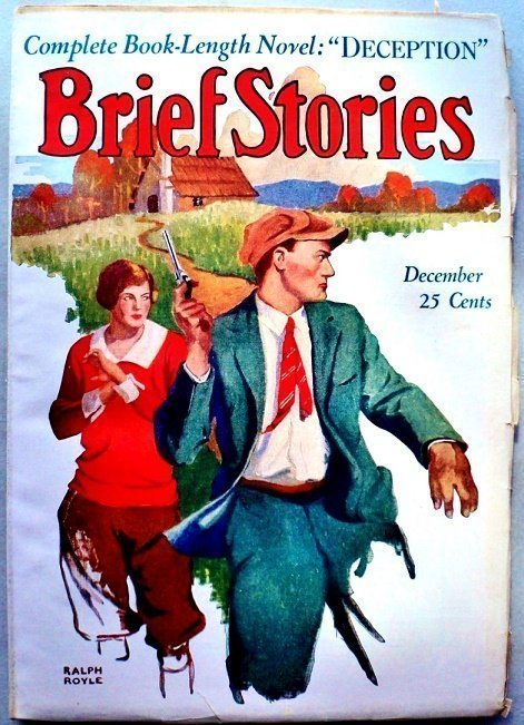 BRIEF STORIES - Dec. 1925