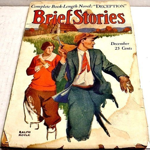 BRIEF STORIES - Dec. 1925 (Dry pages and beat)