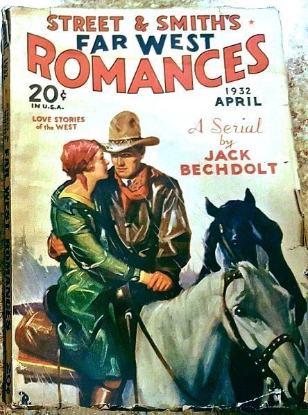 FAR WEST ROMANCES - April 1932