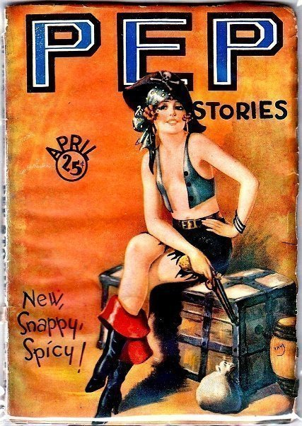 PEP STORIES - April 1929