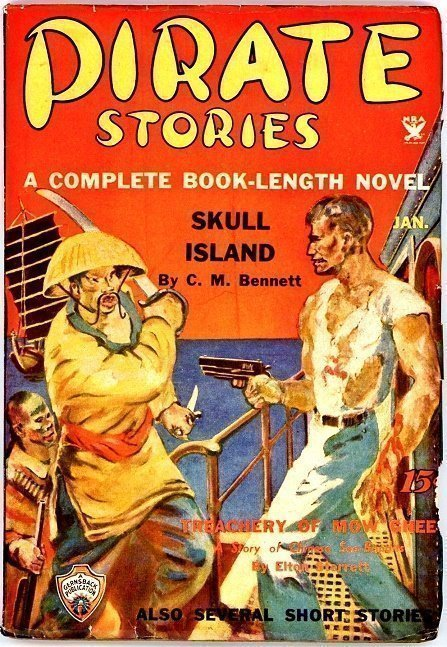 PIRATE STORIES - Jan. 1935