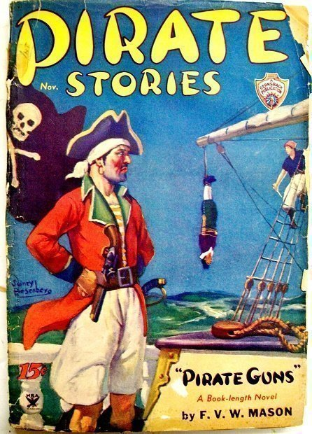 PIRATE STORIES - Nov. 1934