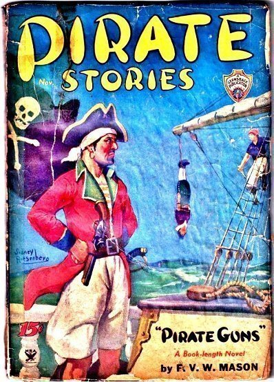PIRATE STORIES - Nov. 1934 (Not so nice)