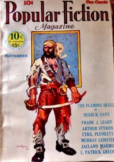 POPULAR FICTION MAGAZINE - Nov. 1931