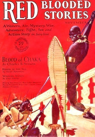 RED-BLOODED STORIES - Nov. 1928 (PULPFEST 2013 Copy)