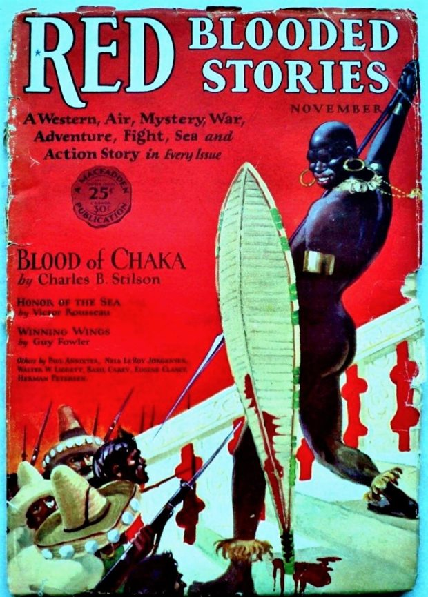 RED-BLOODED STORIES - Nov. 1928