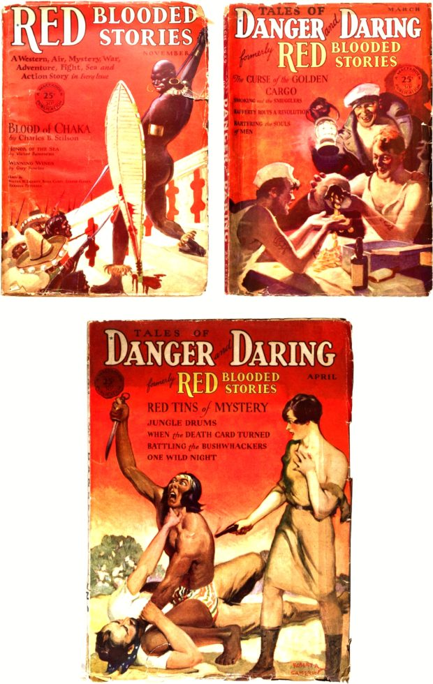 RED BLOODED STORIES and TALES of DANGER and DARING