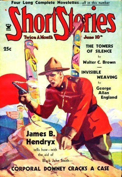 SHORT STORIES - June - 10, 1935