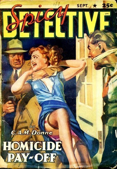 SPICY DETECTIVE STORIES - Sept. 1941