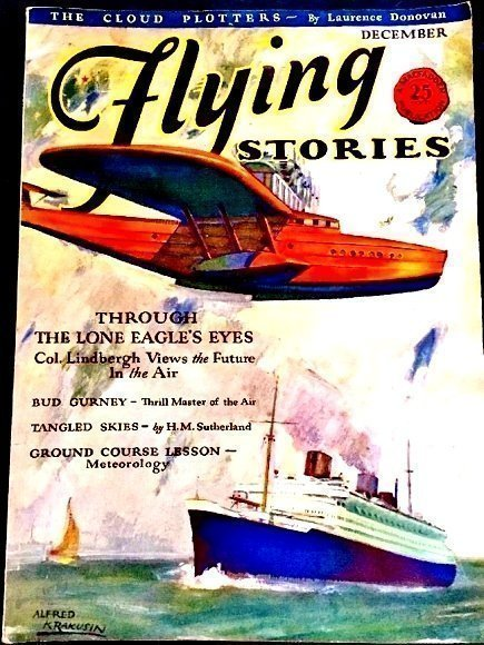 FLYING STORIES - Dec. 1929