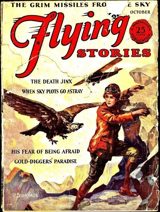FLYING STORIES - Oct. 1929