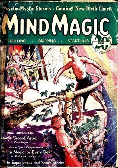 MIND MAGIC - June 1931 (First Issue)
